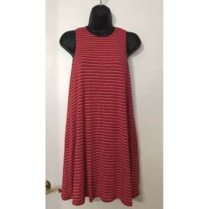Socialite High Neck Tank Dress w/ Pockets Sz XS